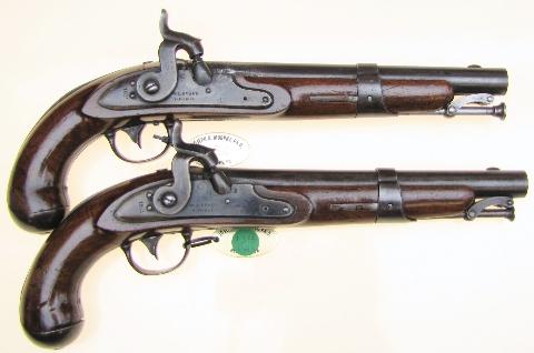 Antique Gun Room Inc Details For Unique Pair Of 1831 W L Evans V